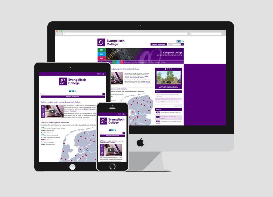 Website Evangelisch College