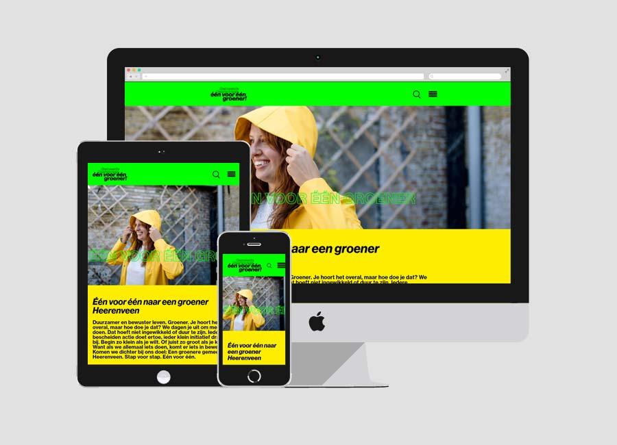 Toegankelijke website één voor één groener