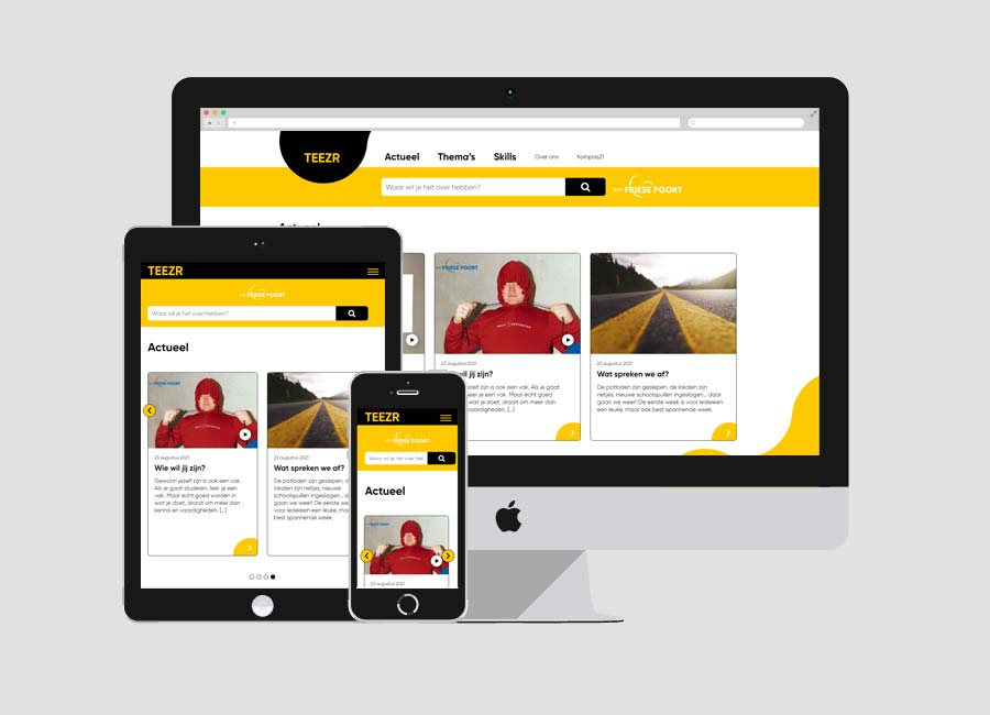 WordPress blog: Teezr.nl